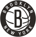 Brooklyn Nets 2012 13-Pres Secondary Logo iron on sticker