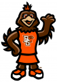 Bowling Green Falcons 2006-Pres Mascot Logo decal sticker