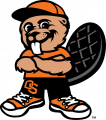 Oregon State Beavers 2007-Pres Mascot Logo decal sticker
