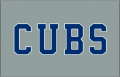 Chicago Cubs 2014-Pres Jersey Logo iron on sticker