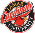 Lamar Cardinals 1997-2009 Primary Logo decal sticker