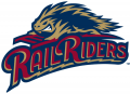 Scranton_Wilkes-Barre RailRiders 2013-Pres Primary Logo iron on sticker