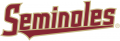Florida State Seminoles 2014-Pres Wordmark Logo iron on sticker