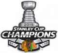 Chicago Blackhawks 2014 15 Champion Logo iron on sticker