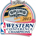 San Antonio Spurs 2012-13 Champion Logo iron on sticker