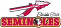 Florida State Seminoles 1989-2013 Wordmark Logo iron on sticker