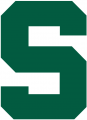 Michigan State Spartans 1983-Pres Secondary Logo iron on sticker