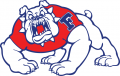 Fresno State Bulldogs 1992-2005 Primary Logo decal sticker