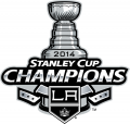 Los Angeles Kings 2013 14 Champion Logo iron on sticker