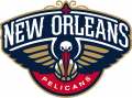 New Orleans Pelicans 2013-2014 Pres Primary Logo iron on sticker