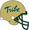 William and Mary Tribe 2009-2015 Helmet Logo iron on sticker