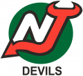 New Jersey Devils 1982 83 Unused Logo iron on sticker