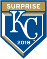 Kansas City Royals 2018 Event Logo iron on sticker
