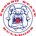 Fresno State Bulldogs 1992-2005 Alternate Logo 01 decal sticker