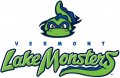Vermont Lake Monsters 2014-Pres Primary Logo iron on sticker