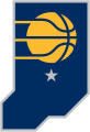 Indiana Pacers 2017-2018 Pres Alternate Logo decal sticker