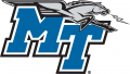 Middle Tennessee Blue Raiders 2007-Pres Primary Logo iron on sticker