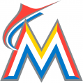 Miami Marlins 2017-2018 Primary Logo iron on sticker