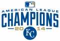 Kansas City Royals 2014 Champion Logo iron on sticker