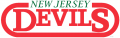 New Jersey Devils 1981 82-1989 90 Wordmark Logo iron on sticker