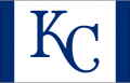 Kansas City Royals 2013-Pres Batting Practice Logo iron on sticker