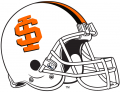 Idaho State Bengals 2001-2018 Helmet decal sticker