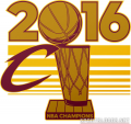 Cleveland Cavaliers 2015 16 Champion Logo iron on sticker