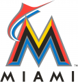 Miami Marlins 2012-2016 Primary Logo iron on sticker