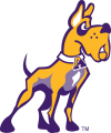 Albany Great Danes 2001-2007 Alternate Logo decal sticker