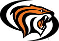 Pacific Tigers 1998-Pres Alternate Logo 01 decal sticker