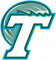 Tulane Green Wave 1998-2013 Secondary Logo iron on sticker