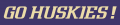 Washington Huskies 2001-Pres Wordmark Logo 01 decal sticker