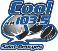 Saint-Georges Cool-FM 103.5 2010 11-2012 13 Primary Logo iron on sticker