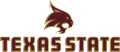 Texas State Bobcats 2008-Pres Secondary Logo iron on sticker