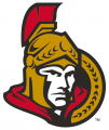 Ottawa Senators 2007 08-Pres Primary Logo decal sticker