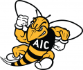 AIC Yellow Jackets 2009-Pres Secondary Logo decal sticker