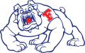 Fresno State Bulldogs 1992-2005 Alternate Logo 02 decal sticker