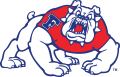 Fresno State Bulldogs 1992-2005 Alternate Logo 05 decal sticker