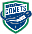 Utica Comets 2013 14-Pres Primary Logo iron on sticker