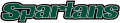 USC Upstate Spartans 2003-2010 Wordmark Logo 04 iron on sticker