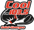 Saint-Georges Cool-FM 103.5 2013 14-Pres Primary Logo iron on sticker