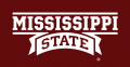 Mississippi State Bulldogs 2009-Pres Wordmark Logo 02 decal sticker