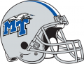 Middle Tennessee Blue Raiders 1998-Pres Helmet iron on sticker
