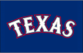 Texas Rangers 2009-2019 Batting Practice Logo iron on sticker