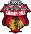Chicago Blackhawks 2012 13 Champion Logo iron on sticker