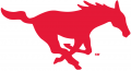 SMU Mustangs 1977-2007 Primary Logo iron on sticker