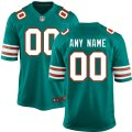 Miami Dolphins Custom Letter and Number Kits For Green Jersey