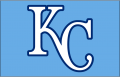 Kansas City Royals 2010-2011 Cap Logo iron on sticker