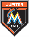 Miami Marlins 2018 Event Logo iron on sticker