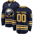 Buffalo Sabres Custom Letter and Number Kits for Blue home Jersey